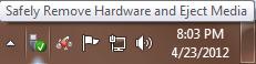 بدون استفاده از Safely Remove Hardware درایو های USB را از کامپیوتر جدا کنید